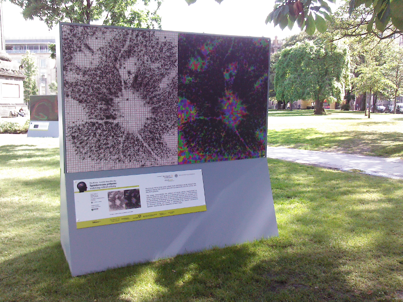A retina on St Andrew Square
